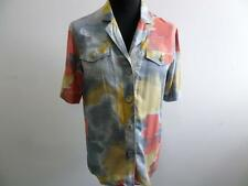 "GENIUS 90'S VINTAGE BLOUSES,Tops,SHIRT Multi SIZE 40 40"" CHEST VGC SKU AR178"