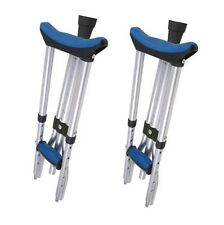 (1 Pair) Carex A99500 Folding Crutches Universal Size FREE SHIPPING