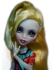 ☠ OOAK custom Monster High doll repaint Lagoona Blue ever after bjd ☠