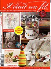 Il etait un fil broderie n°17 juin 2014 Revue Magazine Printemps tricotin perles