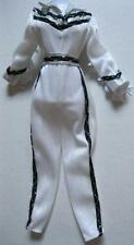 1980 Western Barbie #1757 White Black Silver CowGirl Rodeo Jumpsuit Clothes Exc.