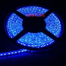 3528 SMD LED Flexible Strip Lights Blue 5M Waterproof 600leds 120led/m Car 12V