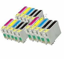 15 CARTUCCE COMPATIBILE PER EPSON T1291 T1292 T1293 T1294 Stylus Office BX320FW