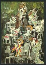Emanuele Luzzati : La mia scena è un bosco - cartolina