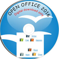 OPEN OFFICE 2016 for MS Windows home and student 365 DIGITAL DOWNLOAD ONLY
