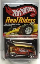 Hot Wheels 2008 Red Line Club RLC Real Riders GOLD Volkswagen VW Drag Bus /10000