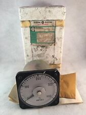 GE General Electric Meter AC Amperes 0-400 103131LSSC