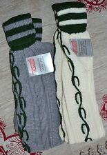 German Trachten Lederhosen Schuhplattler Knee socks S- XL New