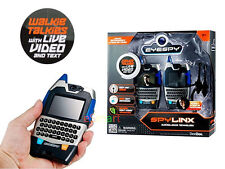 Live Video Walkie Talkie EyeSpy Long Range Spy Night Vision Two Way Radio Kids