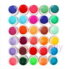 lot de 30 couleur 5ml gel uv builder opaque à ongle décoration art manucure