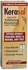 Kerasal One Step Exfoliating Moisturizer Therapy Foot Ointment 30 g