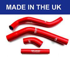 YAMAHA YZF450 YZ450F 2010 - 2016 SILICONE RADIATOR HOSES RED WATER COOLANT PIPES
