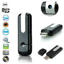USB Disk SPY Camera Camcorder Mini Hidden DV DVR Motion Detection Loud Gift