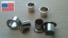 Set of 6 Vintage-Style Nickel Tuner Bushings for Harmony Kay Silvertone Gibson