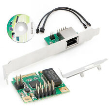 10/100/1000Mbps Mini PCI-Express Gigabit Ethernet mPCIe to 1000M Rj45 Lan Card
