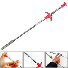 Useful 60.5cm Long Reach Claw Pick Up Narrow Bend Curve Grabber Tool
