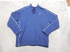 VINTAGE Nike Challenge Court Jacket Adult Large Sampras Agassi Tennis Blue Mens