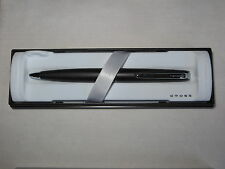 EPIC BALL POINT PEN BY A.T. CROSS JET BLACK SATIN  (NOS) NEW IN BOX  USA