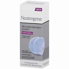 Neutrogena Microdermabrasion System Puffs Refill 24 puffs 2 month supply