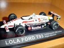 LOLA FORD T93 T 93 1:43 INDIANAPOLIS 500 NIGEL MANSELL