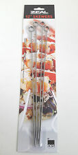 """12"""" (31cm) Food Skewers in 18/8 Stainless Steel. Ideal for Bar-be-cues. Pck of 4"""