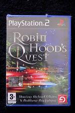 PS2 : ROBIN HOOD'S QUEST - Nuovo, risigillato ! Un'avventura mozzafiato !