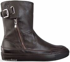$750.00 CESARE PACIOTTI FASHION LEATHER BOOTS US 11 ITALIAN DESIGNER MENS SHOES