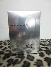 INDIVIDUEL BY MONT BLANC MEN FRAGRANCE COLOGNE  2.5 OZ EDT SPRAY NEW IN BOX