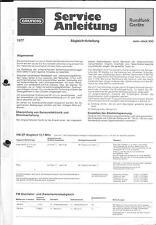 Grundig Original Service Manual für Sono-Clock 550