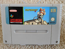 PAPERBOY 2 FOR SUPER NINTENDO SNES CONSOLE UK PAL REGION GAME TESTED