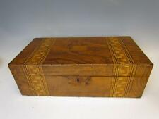 ANTIQUE INLAID SEA CAPTAINS LAP DESK FROM MID 1800s
