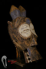 Bembe Headcrest Mask with Custom Mount African Tribal Art