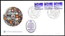 Niederlande 1977 Brief Beleg Amphilex Tag der Vereinten Nationen UNO [bc0036]