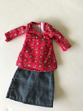 Neighborhood Barbie Doll Midge Fashion Skirt Top Happy Family Outfit Clothing