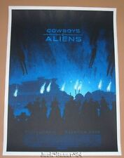 Daniel Danger Cowboys Aliens Movie Poster Print Mondo Art Daniel Craig