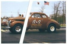 1960s Drag Racing-Joe Amato's 1940 Chevy Coupe BB/Gas Supercharged-A & A SPEED