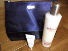 New Elemis gift set. Large milk bath, flash balm & cosmetic bag.