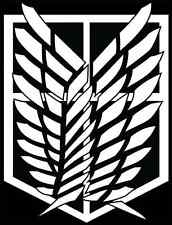 Attack on Titan Scouting Legion Survey Corps car decal small
