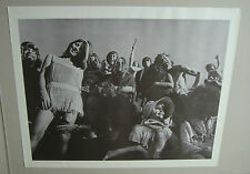 Vintage Music Memorabilia Poster Fraternity of Man 1967 Ray Leong Easy Rider 60s