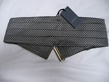 Gieves and Hawkes Brand New Retro Diamond Cummerbund with tag RRP £75