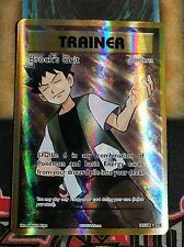 Pokemon Brock's Grit 107/108 XY Evolutions Ultra Rare Full Art Holo NM