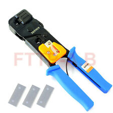 SHIPUCO 868G network Cable clamp crimping plier RJ45 EJ11 Telephone Line tools