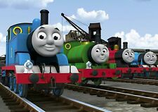 THOMAS THE TANK ENGINE AND FRIENDS Image A4 Poster Gloss Print Laminated