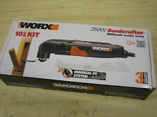 WORX - 250 W SONICRAFTER OSCILLATING TOOL - WX 668 MODEL