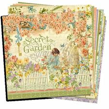 "GRAPHIC 45 ""SECRET GARDEN"" PAPER COLLECTION (12 SHEETS) SPRING SCRAPJACK'S PLACE"