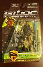 Hasbro G.I. Joe Rise Of Cobra ROC Wallace Ripcord Weems Jungle Assault UNOPENED