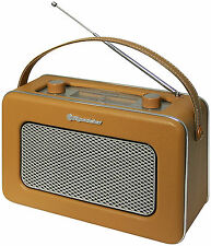 Roadstar TRA-1958 BR Retro Design Radio Old Style