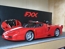 1/18 HOT WHEELS ELITE Ferrari FXX 2005 Rosso Scuderia silver wheels