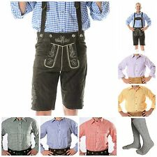 German Bavarian Oktoberfest Trachten Package/Set {Lederhosen+Shirt+Socks} KURT