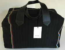 Paul Smith PS Black Maharam Bespoke Stripe Holdall BNWT